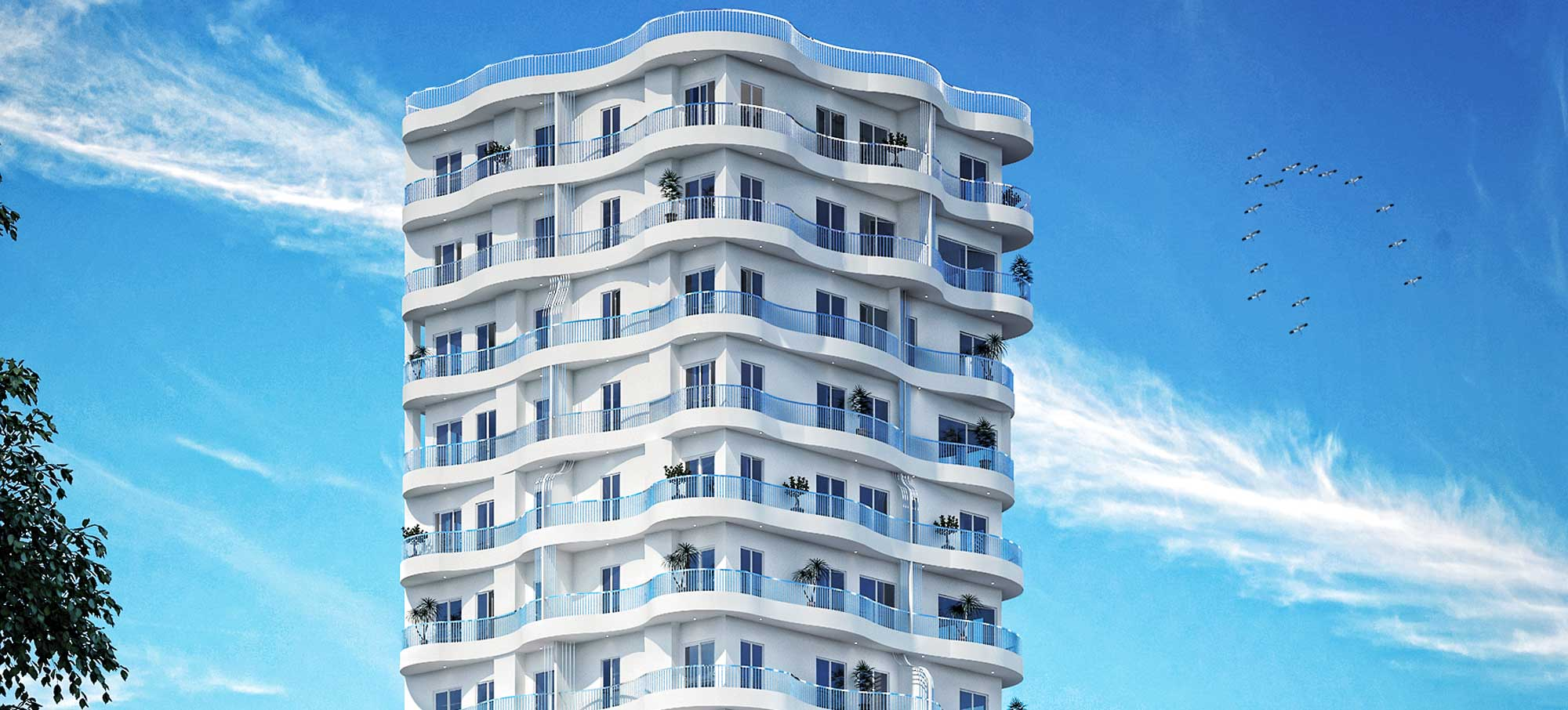 آپارتمان ساحلی (برج) موج – بابلسر – 20 طبقه رویایی