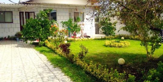 خانه باغ ویلایی بهنمیر 700 متر زمین با ویلای 3 خواب باز سازی شده