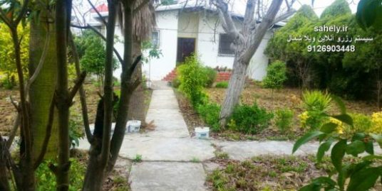 اجاره ویلا بابلسر دوخواب – خانه باغ 1000 متری نزدیک ساحل