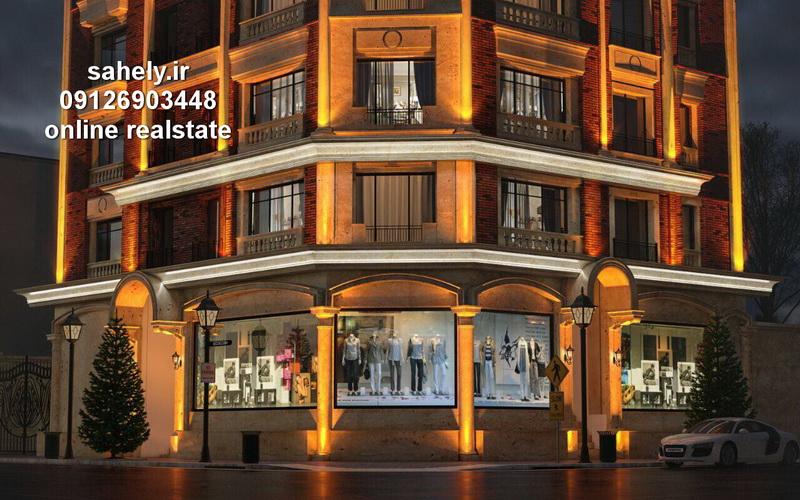 پیش فروش آپارتمان بابلسر با معماری و نمای بسیار زیبا خ چمران