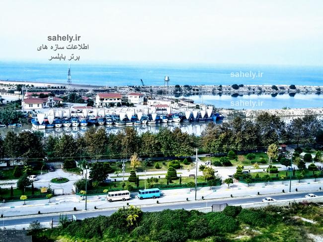 برج ساحلی آرامش بابلسر (منظره طبقه 5 مسکونی)
