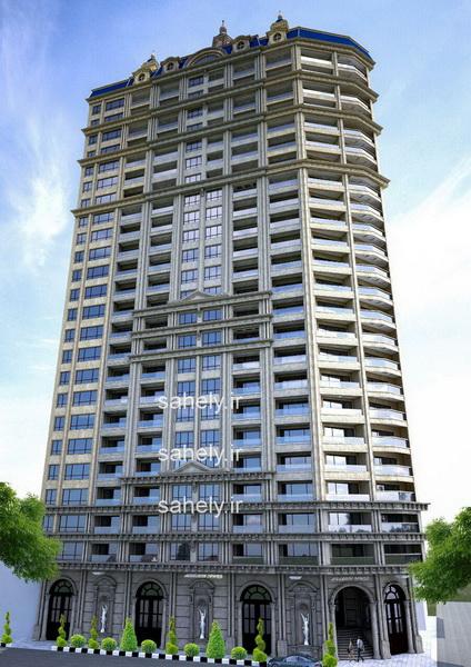 برج ساحلی آرامش بابلسر 27 طبقه نخست وزیری