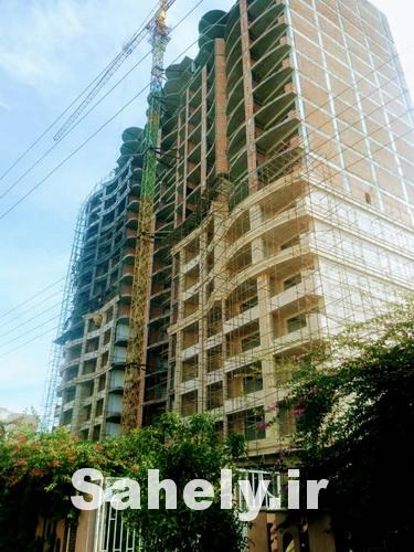 پیشرفت فیزیکی پروژه برج باغ مینیاتور بابلسر در سال تابستان سال 99